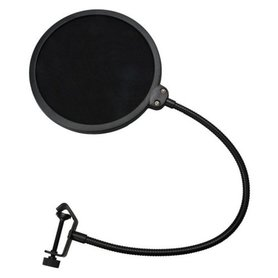 Universele popfilter voor studio microfoons