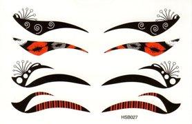 Eyeliner oogtattoo HSB027