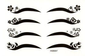 Eyeliner oogtattoo HSB007