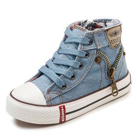 Sneaker Jeans – lichtblauw