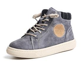 Leren sneaker Jesse –  taupe