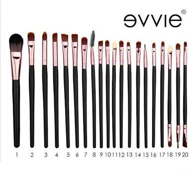 20-delig make-up kwasten set