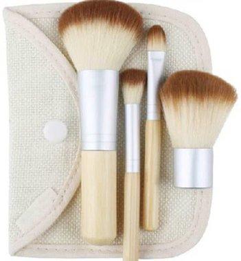 Bamboo Make-up kwastenset