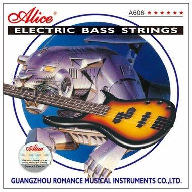 Basgitaar snaren set .045 - voor 4 snarige bas - Medium