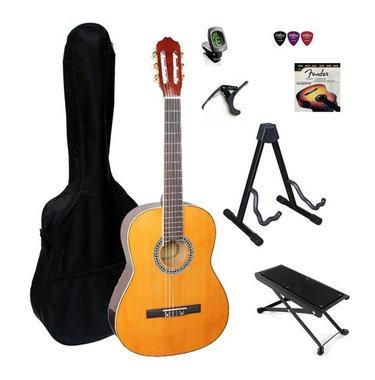 Complete 4/4 klassieke gitaarset