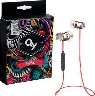 QY Bluetooth In-ear Draadloze Koptelefoon Z-71/ Headset / Oordopjes / Oortjes / Hoofdtelefoon / Oortelefoon / Headphones - Geschikt voor Hardloop & Sport - Draadloos / Wireless bereik tot 10meter - ro