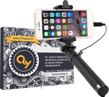 QY Selfie Stick - voor iPhone 5-6-7-8 en iPhone X - met lightning aansluiting