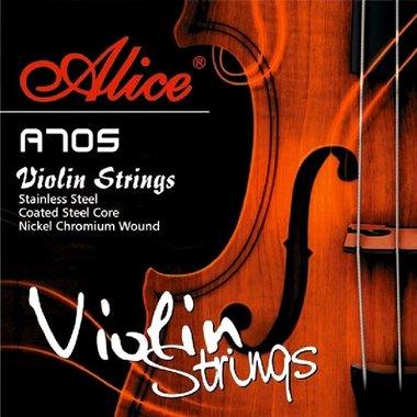 Vioolsnaren voor 4/4 viool - RVS en vernikkeld staal