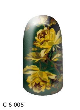 bloem groen geel