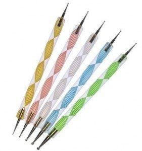5 delige dotting tool set