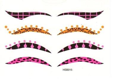 Eyeliner oogtattoo HSB015