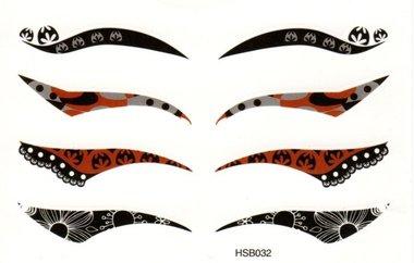 Eyeliner oogtattoo HSB032