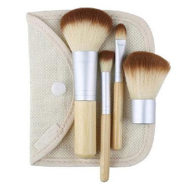 Set van 4 make-up kwasten