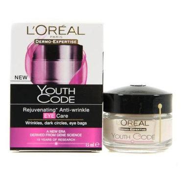 L'Oréal Youth Code Anti-Rimpel Eye Cream 15ml.