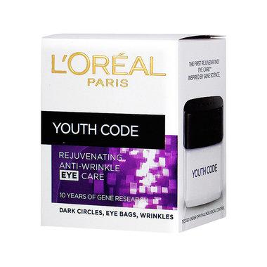 L'Oréal Paris Dermo Expertise Youth Code Oogcreme 15 ml.