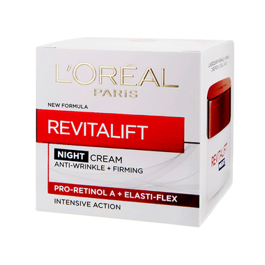 Loreal Paris Revitalift Anti-Rimpel Nachtcreme 50ml.