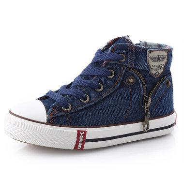 Sneaker Jeans – donkerblauw