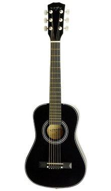 "Áengus Western 30"" gitaar 1/2 kindergitaar - 76 cm - zwart"