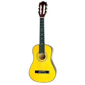 """Áengus Klassieke 30"""" gitaar 1/2 kindergitaar - geel"""