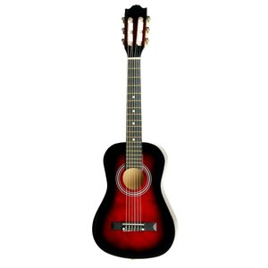 """Áengus Klassieke 30"""" gitaar 1/2 kindergitaar - rood"""